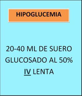 Suero glucosado